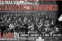 Por primera vez se presenta Cerati sinfónico en San Juan