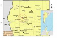 Domingo movidito: la jornada comenzó con 4 sismos en San Juan