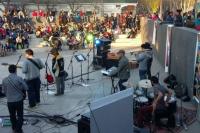 Este viernes sonó reggae en el anfiteatro del Bicentenario