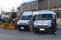 Los vecinos de Pocito serán beneficiados con nuevas movilidades y maquinarias