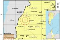 Fuerte sismo en La Rioja se percibió en San Juan