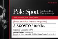 Pole Sport en el teatro del Bicentenario