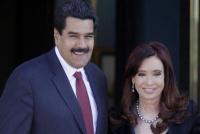 Proponen quitarle a Maduro una distinción nacional que le entregó Cristina Kirchner