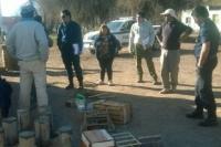 Tres personas detenidas por depredación de fauna