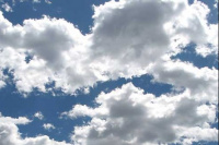 Estado del tiempo: lunes nublado y con una máxima mayor a 25°C