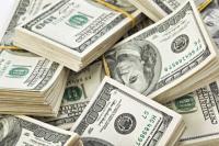 El dólar opera con una leve baja y se vende a $45,02