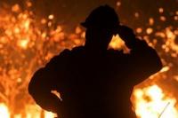 Incendios en Valle Fértil: el fuego no cesa debido a los vientos en el lugar