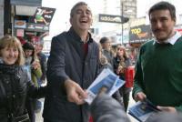 Randazzo denunció que faltaban boletas de su espacio en varias ciudades