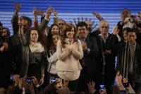 Cristina Kirchner habló durante la madrugada: