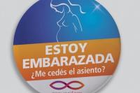 Promueven campaña para ceder el asiento a las embarazadas, aún cuando la pancita no se note