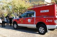 Sofocaron un incendio y secuestraron un arma de fuego de la casa de una anciana