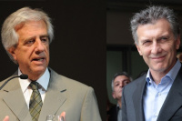 Tabaré Vázquez y Macri oficializarán la candidatura al Mundial 2030