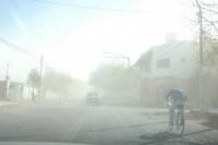 El viento Sur azota a la provincia: hay incendios en varios departamentos