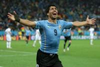 Suárez se recupera en tiempo récord y podría jugar contra Argentina