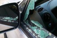 Un joven le rompió el vidrio de un cabezazo a un patrullero en Pocito