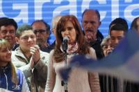 Cristina Kirchner relanzó su campaña a Senadora en La Plata