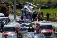 Imputan por terrorismo a un conductor que atropelló militares