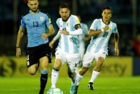 En un partido chato Argentina igualó 0 a 0 ante Uruguay