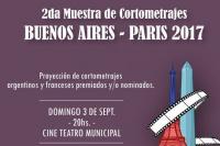 2º Muestra de Cortometrajes Buenos Aires – Paris