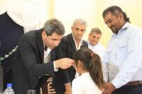 Albardón: entregaron anteojos en dos escuelas