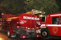 Pérdidas totales en un aserradero de Chimbas tras un incendio