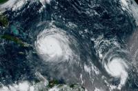 El huracán Irma alcanza los Cayos de Florida