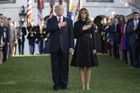 Atentado de las Torres Gemelas: Trump realizó un minuto de silencio en la Casa Blanca por las víctimas del 11 de septiembre