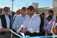 Realizan una nueva entrega de viviendas en Albardón