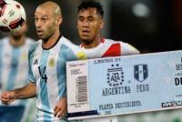 Insólitos precios para Argentina-Perú