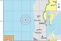 Un sismo en el Océano Pacífico se sintió en San Juan