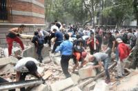 Otra vez, un fuerte sismo sacudió a México