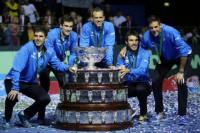 El trofeo de la Copa Davis llega a San Juan
