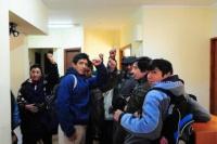 Mapuches se reunieron con el juez Otranto y levantaron la toma del juzgado