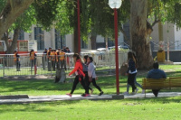El Día del Estudiante arrancó tranquilo en el Parque