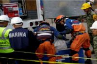 Otra tragedia: se estrelló un helicóptero con ayuda a las víctimas del terremoto en México