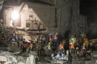 Llegan a 337 los muertos por el terremoto del 19 de septiembre en México