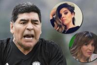 Durísimo mensaje de Diego Maradona a sus hijas