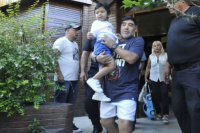Dieguito Fernando extraña a su papá: