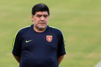 """Maradona y un video imperdible en Instagram: """"A Mayweather lo agarro y lo mato"""""""