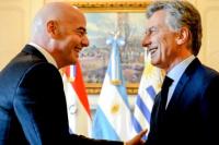 Conocé qué se dijeron Macri e Infantino