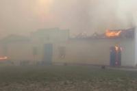 San Luis: la ciudad de La Punta está en llamas