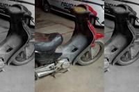 Cayó un delincuente después de robar una moto en Pocito