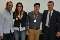 Fabián Martin recibió a los sanjuaninos que irán a los Juegos Evita