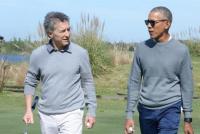 La intimidad de Mauricio Macri y Barack Obama en Bella Vista