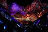Rubén Rada hizo bailar a todos en el Concierto de las Américas