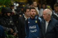 A tres meses del Rusia 2018: Messi se calzó la pilcha mundialista