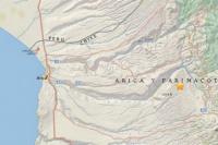 Dos fuertes sismos sacudieron en la madrugada a Chile