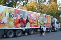 El camión de frutas y verduras pasará por Ullum