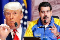 Crisis en Venezuela: Donald Trump volvió a advertir sobre la posibilidad de una