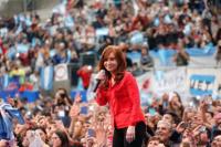 Cristina Kirchner cierra su campaña en el estadio de Racing